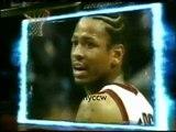 Allen Iverson 37pts vs Carter McGrady Raptors 99/00 NBA