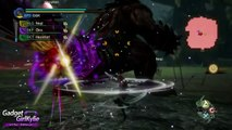 Toukiden Kiwami PS4 / PS VITA DEMO Gameplay - Chthonian Fiend (Special Missions)