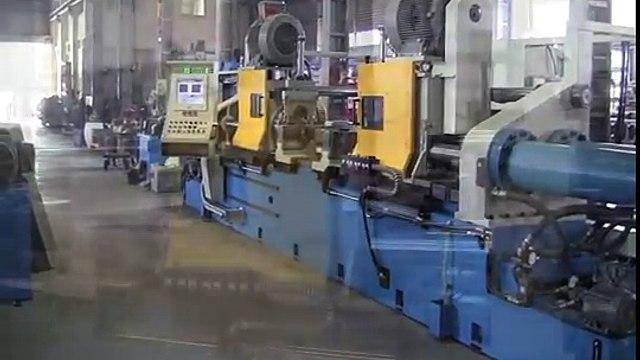 Yuan Yu Dual-Spindle YU120 friction welding for truck axles (banjo axles, rear axles)