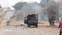 Guinée : images des violentes manifestations à Conakry