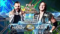 Jeff Hardy vs Chris Sabin, TNA Impact Wrestling 07.11.2013