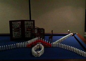 Ready, Set, Go Domino!