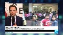 25 ans de l'AEFE : Matthias Fekl au journal de France 24