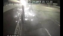 Vídeo mostra acidente que matou três pessoas na Avenida Carlos Lindenberg, em Vila Velha