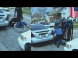 Mężczyzna pogryziony przez policyjnego psa i pobity przez policjantów umiera
