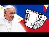 Filipińscy policjanci będą nosić pieluchy podczas wizyty papieża.