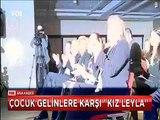 Sezen Aksu ve Sertap Erener söyledi Çağan Irmak Klibini çekti Çocuk gelinlere karşı 'Kız Leyla'