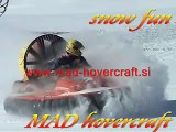 MAD Hovercraft on snow | Hovercrafts for sale