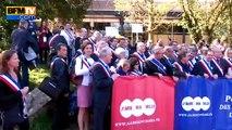 Baisse des dotations aux collectivités: Manuel Valls confronté à des élus en colère