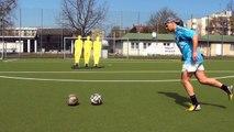 Lionel Messi Free Kick Curve Free Kick Football Skills Best free kick David Beckham
