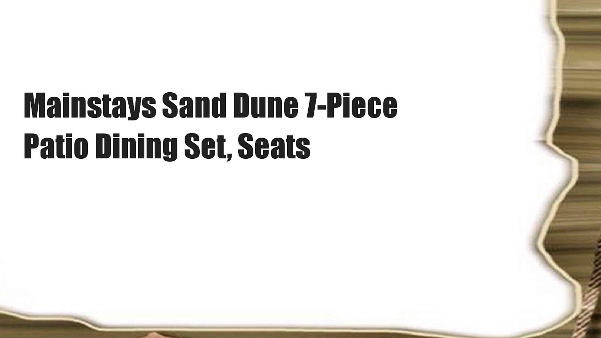 Mainstays Sand Dune 7 Piece Patio
