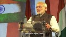 Rencontre du Premier Ministre de l'Inde, Narendra Modi avec la communauté indienne de France