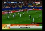 Real Madrid empató 0-0 con el Atlético de Madrid por la Champions League