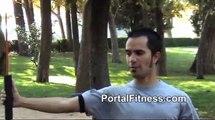 Ejercicios para fortalecer músculos con flexi-bar