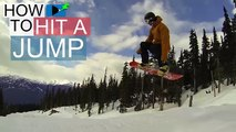 How to Jump on a Snowboard - Snowboarding Tricks
