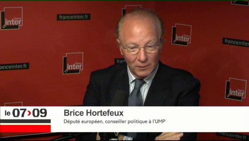 "Brice Hortefeux : ""Nicolas Sarkozy innove et rénove"""