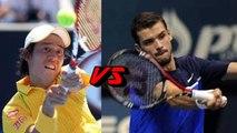 Highlights - Kei Nishikori vs Mikhail Youzhny 2015 - Full highlights - HD - Sony tennis 20