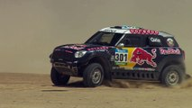The MINI ALL4 Racing Red Bull Livery - Driving Video.