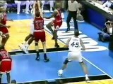Chicago Bulls - Orlando Magic | 1996 Playoffs | ECF Game 3: Pippen on fire, burns Magic
