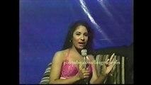 Selena Quintanilla por primera vez como ENTREVISTADORA y CONDUCTORA INEDITO