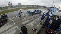 Mécanicien d'Indycar renversé en pleine course par une Formule 1 : accident violent!