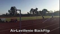 Faire un Backflip pendant un Saut à la perche à 5m de hauteur : AirLavillenie Backflip
