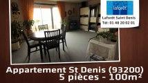 A vendre - Appartement - St Denis (93200) - 5 pièces - 100m²