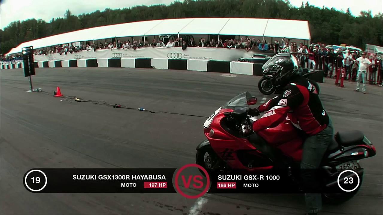 Suzuki Hayabusa vs Suzuki GSX-R1000
