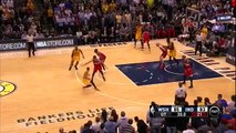 Paul George Send Game 2nd Overtime _ Wizards vs Pacers _ April 14, 2015 _ NBA Season 2014_15