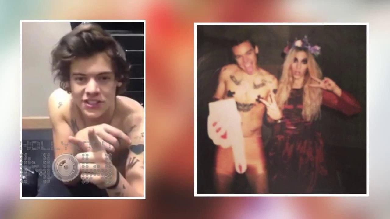 Harry Styles Nude