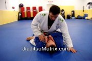 Gracie Brazilian Jiu Jitsu Matrix Moves (BJJ)  Americana to Arm Bar from mount, Peruvian neck tie variation, half guard sweep (brabo choke defense)