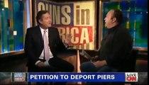 Alex Jones vs Piers Morgan on gun control CNN 1/7/13