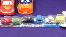Disney Pixar CARS 2 Toys - Playset Lightning McQueen, Luigi, Guido, McQueen, Mater, Sarge Filmore