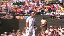 Rafael Nadal vs Mardy Fish - 2011 Wimbledon MS QF - Highlights