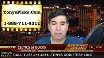 Milwaukee Bucks vs. Boston Celtics Free Pick Prediction NBA Pro Basketball Odds Preview 4-15-2015