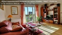 Vente - Appartement - Asnieres sur seine (92600)  - 94m²