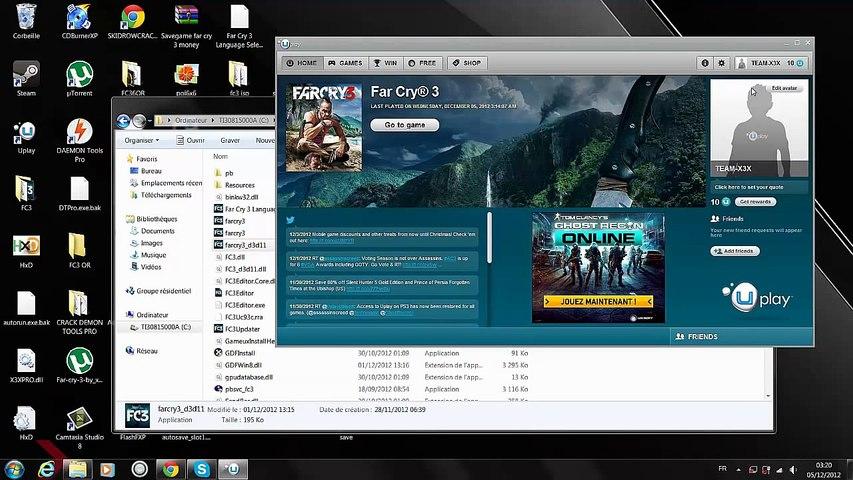 [Patcher] Far Cry 3 KEYGEN Crack No Clé Cd Key PC