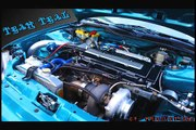 440whp 35R EM1 Civic SI  vs 440whp HTA35r EG6 Civic cx