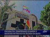 Oposición se une en Quito contra enmiendas y reelección indefinida