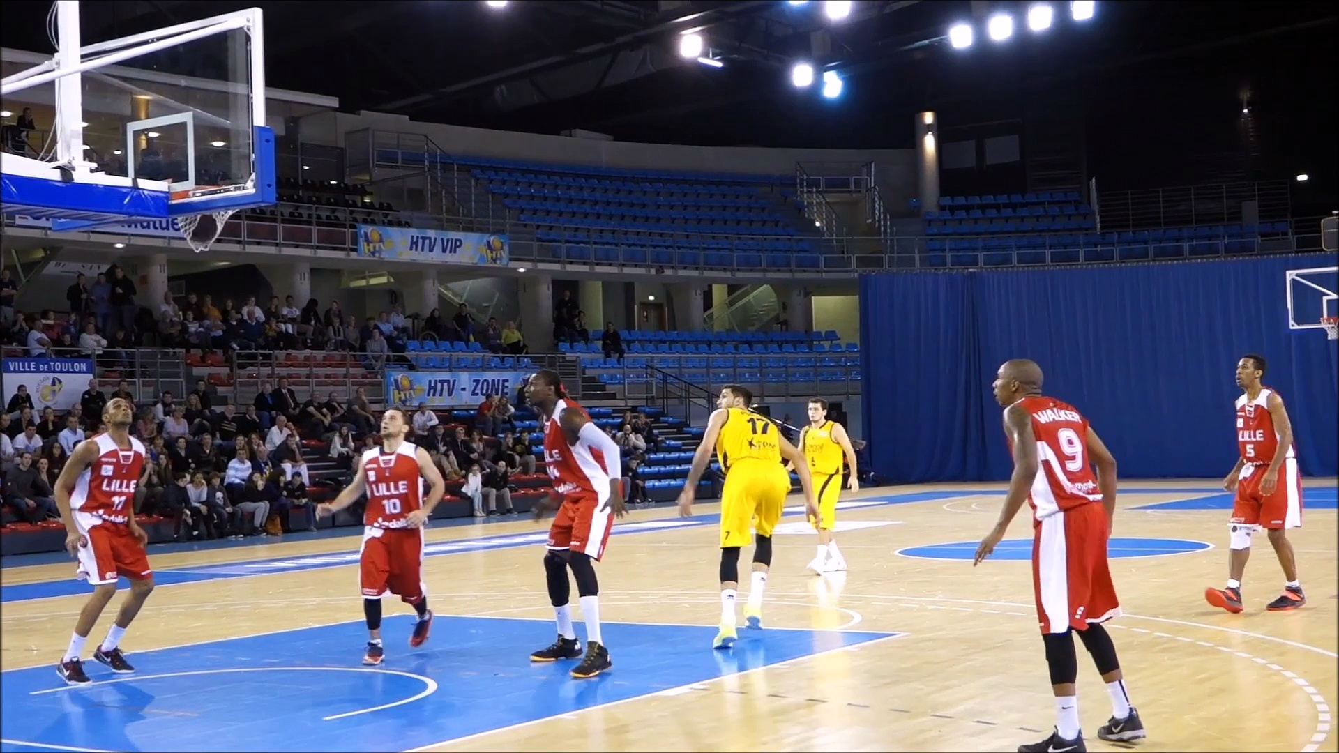 Fabien ATEBA HTV BASKETBALL HIGHLIGHTS