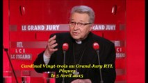 Card XXIII Grand Jury RTL Pâques 5 avril 2015 (Islam-IVG-FinDeVie-Laïcité-Mariage)