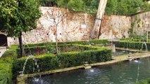 Fountains, Alhambra, Granada, Andalusia, Spain, Europe