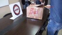 Tarsus Kargodan İçinde Uyuşturucu Bulunan Koliyi Alan Şüpheli Tutuklandı