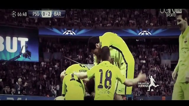 PSG  Vs Barcelona 1 3 2015 All Goals & Highlights 15 04 2015 HD