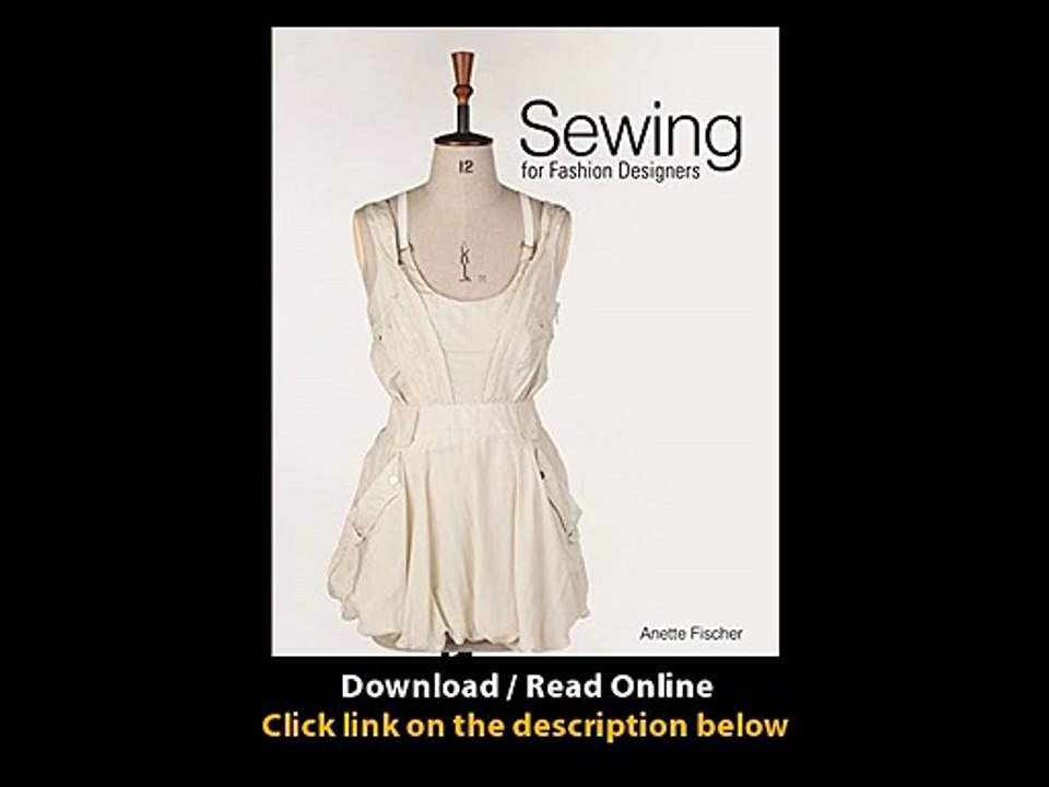 Download Sewing For Fashion Designers By Anette Fischer Pdf Video Dailymotion