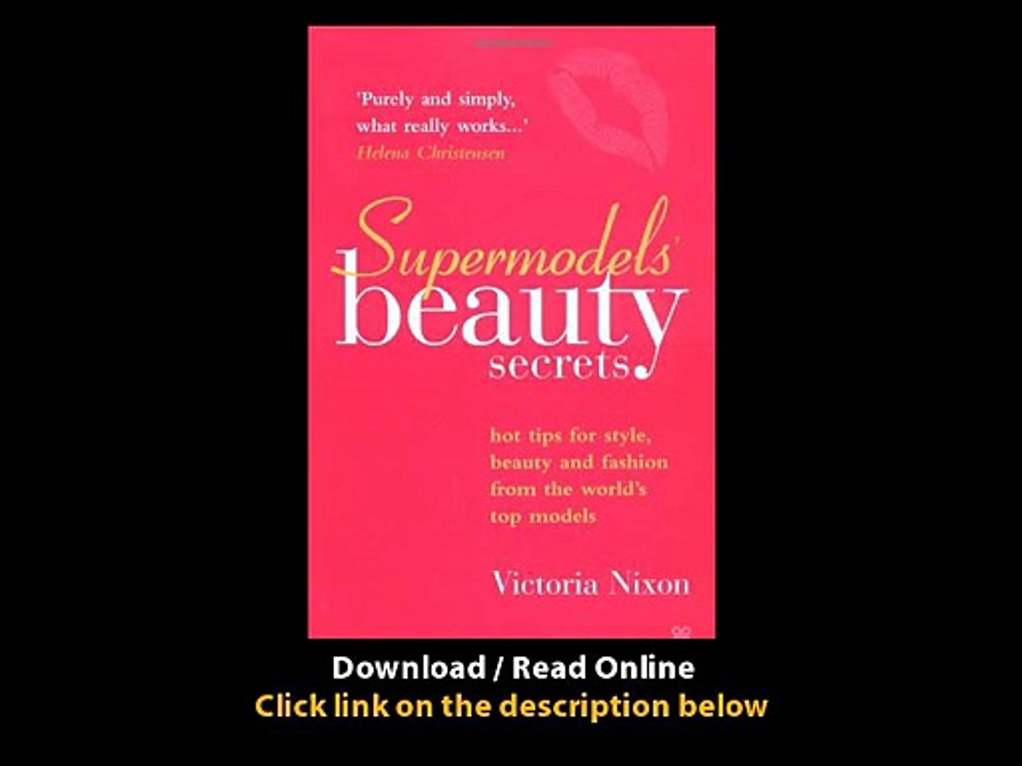 Download Supermodels Beauty Secrets Hot Tips for Style Beauty and Fashion from