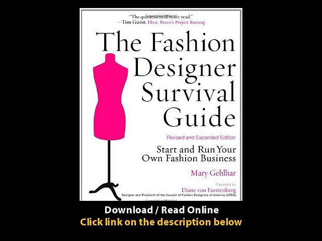Download The Fashion Designer Survival Guide Revised And Expanded Edition Start Video Dailymotion