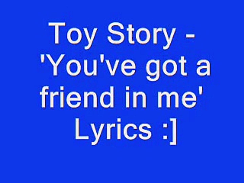 you got a friend in me lyrics