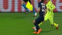 Les deux petits ponts de Suarez sur David Luiz !