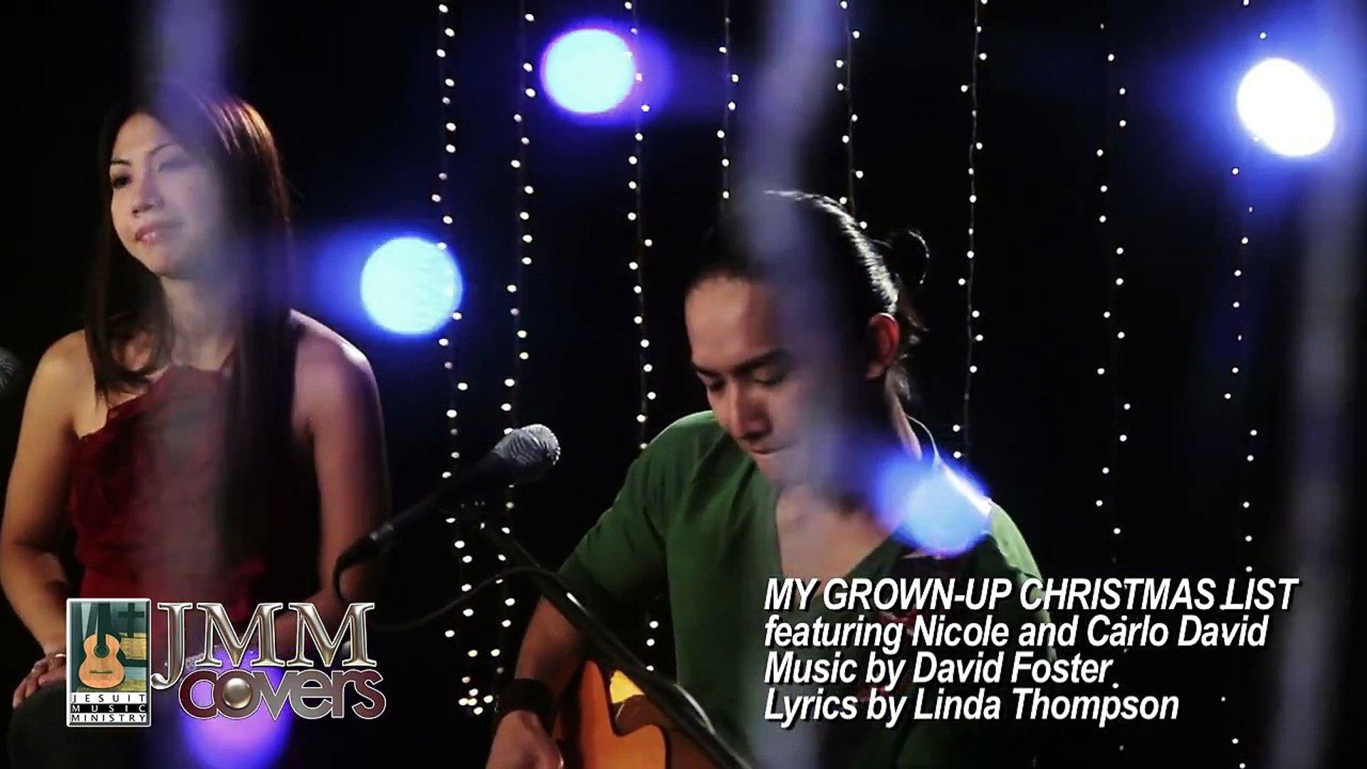 My Grownup Christmas List Lyrics.Jmm Covers Grown Up Christmas List Amy Grant